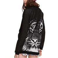 Nollie Tiger Cardigan at PacSun.com