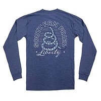 Star Spangled Liberty Long Sleeve Tee by Southern Fried Cotton