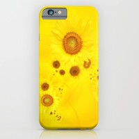 Summer life: sunflower 2 iPhone & iPod Case by Ylenia Pizzetti | Society6