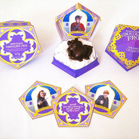 Harry Potter - Honeydukes Chocolate Frog Boxes & Cards