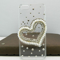 Fashion case Pearl LOVES case   iphone 5 case iphone 4 case iphone 4s case iphone 3 case