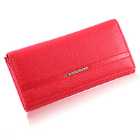 2016 Vintage Wallets Women Fashion brands Long solid female purse High Quality Ladies Clutches wallet credit Card Holder
