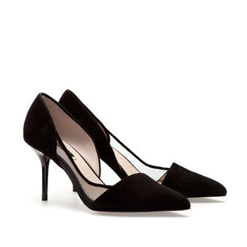MID-HEEL COURT SHOES - Shoes - Woman - ZARA United Kingdom