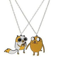 Adventure Time Jake & Cake Best Friends Necklaces - 316913