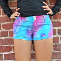 Cotton Candy Colored Hollister Shorts