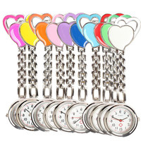 Charming Heart Chest Nurse's Pocket Watch (FREE plus Shipping)