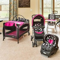 Evenflo JourneyLite Travel System with Embrace, Marianna - Baby - Baby Car Seats & Strollers - Strollers & Travel Systems