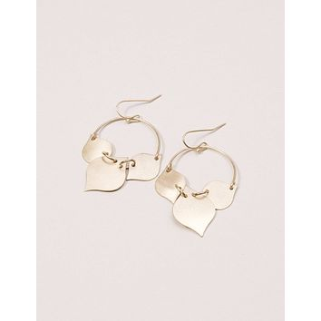 Fair Trade Golden Leaves Earrings