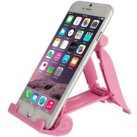 Pink Universal Hard Plastic Tablet & Phone Stand for Samsung Galaxy S5