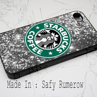Sparkle Starbucks iPhone Case 4 & 4s,iphone 5, iPhone 5c , iPhone 5s Samsung S3 Samsung S4 By AxogyRumerow