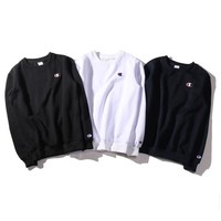 Champions Fashion Casual Long Sleeve Sport Top Sweater Pullover Sweatshirt