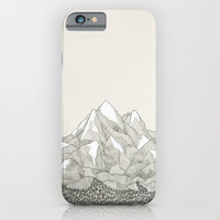 The Mountains and the Woods iPhone & iPod Case by David Penela