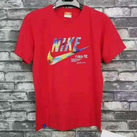 Adidas Fashion loose leisure T-shirt(4 color) Red