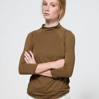 Mock Neck Layering Top