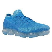 Nike - Air Vapormax Flyknit - 849558402 - Color: Blue - Size: 12.0