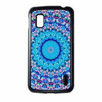 Flowers Sea Pattern Nexus 4 Case