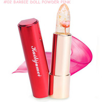2016 New Kailijumei Moisturizer lipsticks Lips Care Surplus Bright Flower Jelly Lipstick 4 Colors 4g