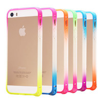 Transparent Cell phone cases for iPhone 5 5s