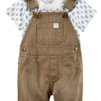 2-Piece Tee & Shortalls Set