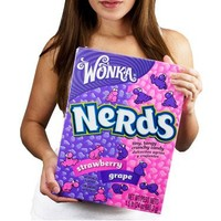"""World's Largest Box of Nerds Candy Grape/Strawberry 1.5lb"""