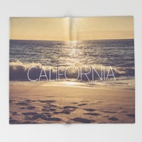 California Throw Blanket by All Is One