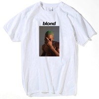 Frank Ocean Blonde T Shirt Tee Shirt for Men Printed Men T-Shirt Short Sleeve Funny Tee Shirts Top Tees tshirts men t shirt 2017