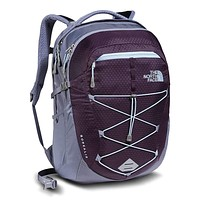 Women's Borealis Backpack in Blackberry Wine/Chambray Blue by The North Face
