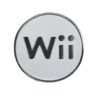 Wii Game System Patch Iron on Applique Alternative Clothing