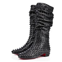 Christian Louboutin Women Fashion Casual Heels Shoes Boots-43