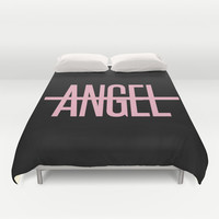 Beyonce - No Angel Duvet Cover by Shaina | Society6