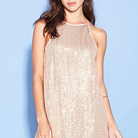 Sequin A-Line Dress