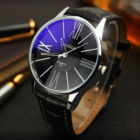 Copy of Quartz Watch with Leather Band for Men
