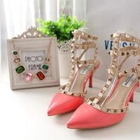 Valentino Fashion Heels Shoes