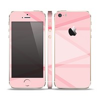 The Subtle Layered Pink Salmon Skin Set for the Apple iPhone 5s