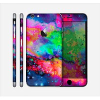 The Neon Splatter Universe Skin for the Apple iPhone 6 Plus