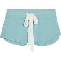 Eberjey - Heather stretch-jersey shorts