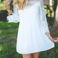 Diamonds Are Forever- Contract Lace Dress