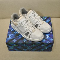 lv louis vuitton womans mens 2020 new fashion casual shoes sneaker sport running shoes 203
