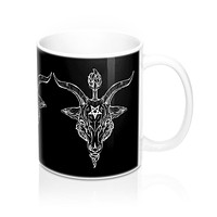 Baphomet Black Phillip Mug 11oz