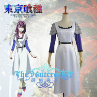 New  Tokyo Ghoul Kamishiro Rize Dress Cosplay Costumes