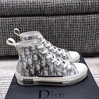 DIOR High-Top Sneakers Sport Shoes