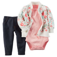 3-Piece Cardigan Set