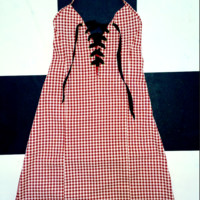 SWEET LORD O'MIGHTY! THE XTINA DRESS IN GINGHAM RED