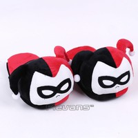 Batman Dark Knight gift Christmas DC Comics Batman Harley Quinn Plush Slippers Soft Toys Home Indoor Floor Winter Women Plush Shoes 2 Types AT_71_6