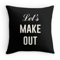Let's Make Out - Decor Pillow