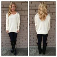 Rhinestone Cowgirl Knit Sweater