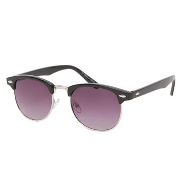 With Love From CA Basic Clubmaster Sunglasses - Womens Sunglasses