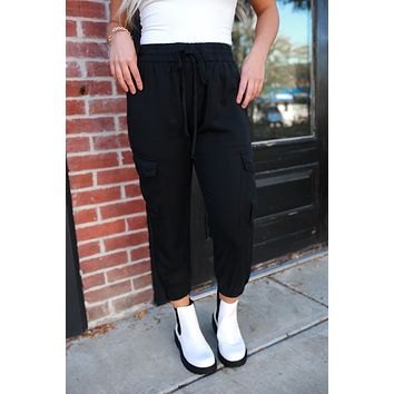 Ride With Me Joggers - Black