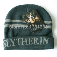 Fashion New Arrival New Beanie Cosplay Harry Potter Slytherin Hat/Cap Costume
