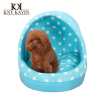 Brand Dog House New 2015 Fashion Dog Beds 3 Color Begs House For Dogs Small Cats Pets House Beds With Mat Free Shipping HP591